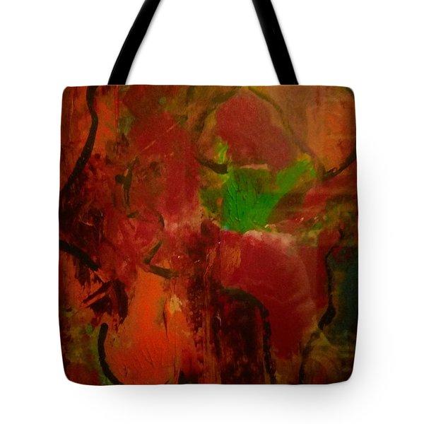 Lion Proile Tote Bag