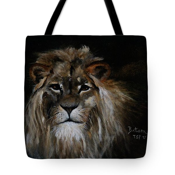 Sargas The Lion Tote Bag by Barbie Batson