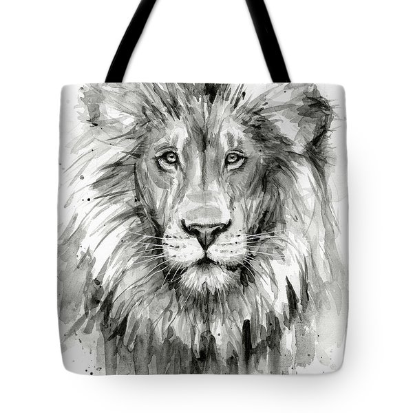 Lion Watercolor  Tote Bag