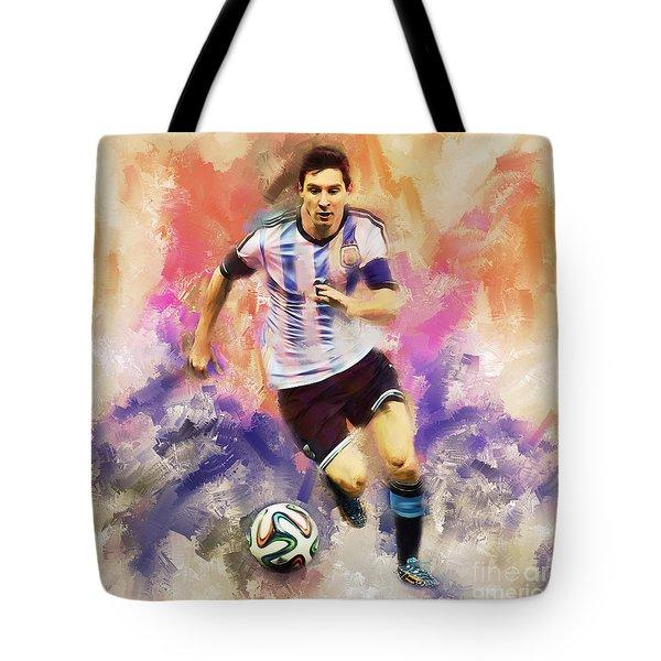 Lionel Messi 094c Tote Bag