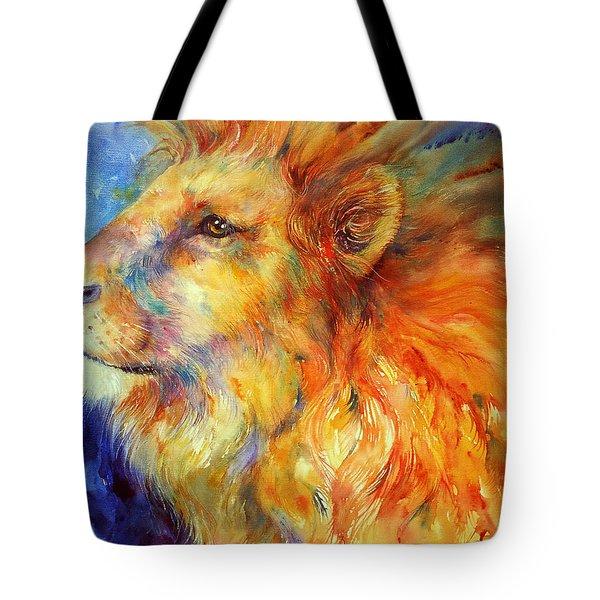 Lionheart Tote Bag