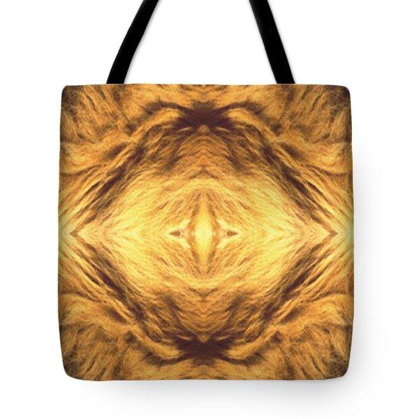 Lion's Eye Tote Bag by Maria Watt