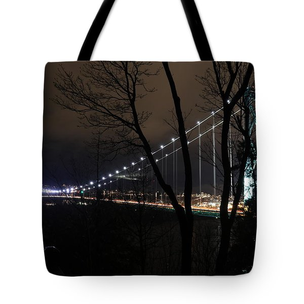 Lions Gate Bridge Tote Bag