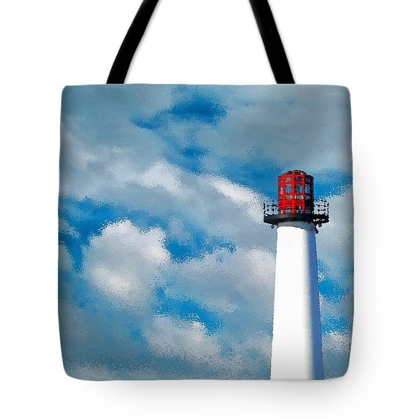Lions Lighthouse Tote Bag
