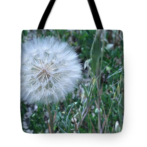 Tote Bag featuring the photograph Lion's Tooth by Mary Mikawoz