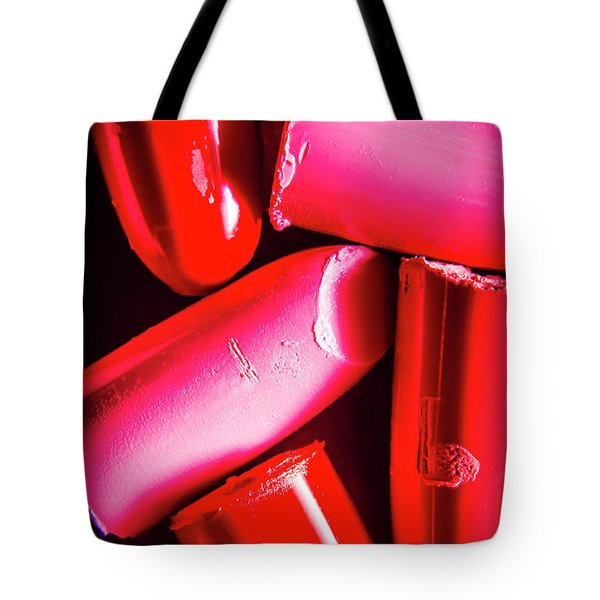 Lipgloss And Letdown Tote Bag
