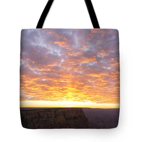 Lipon Point Sunset 3 - Grand Canyon National Park - Arizona Tote Bag by Brian Harig
