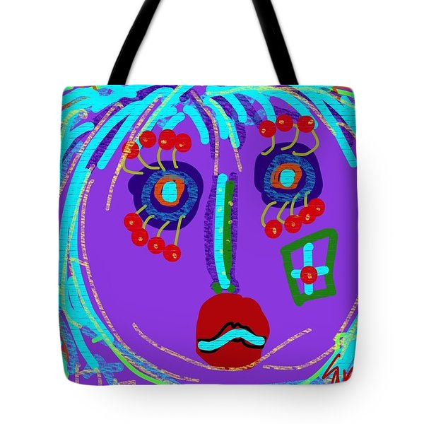 Lippy Girl Tote Bag