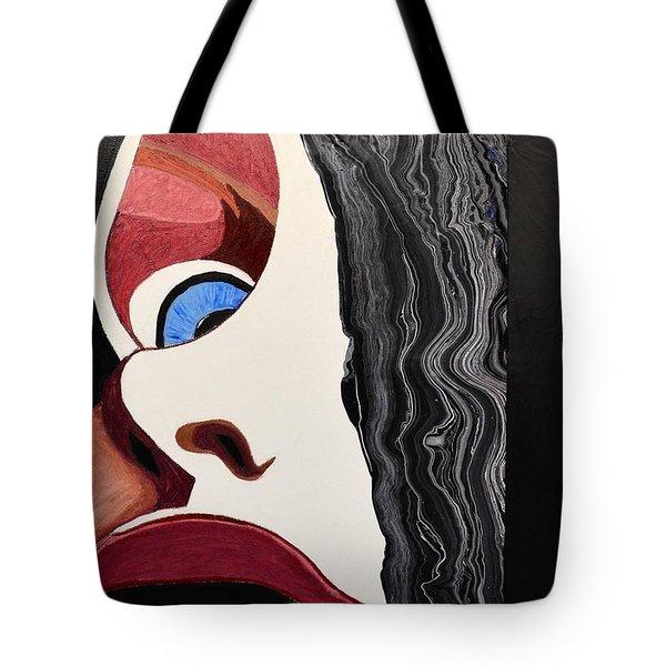 Lipstick Tote Bag