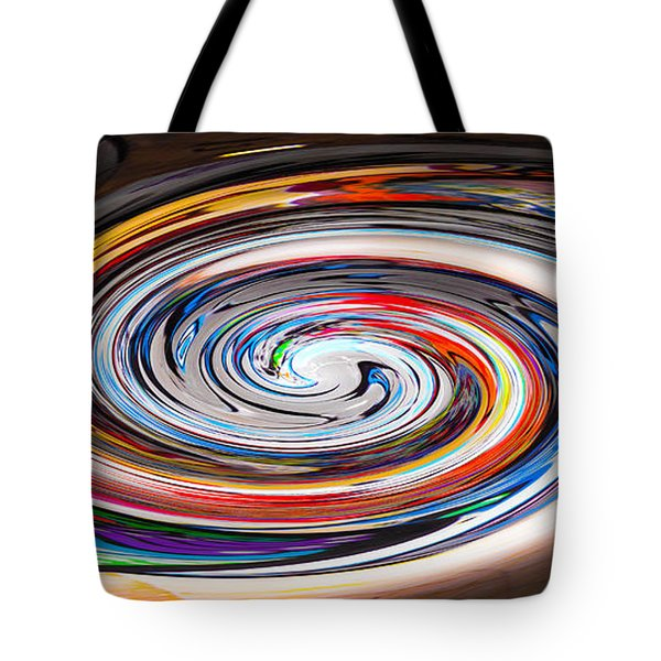 Liquefied Graffiti 2 Tote Bag