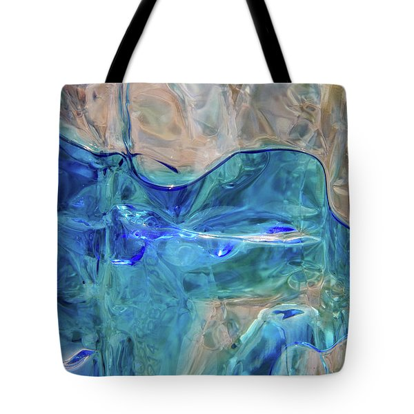 Tote Bag featuring the photograph Liquid Abstract  #0060 by Barbara Tristan
