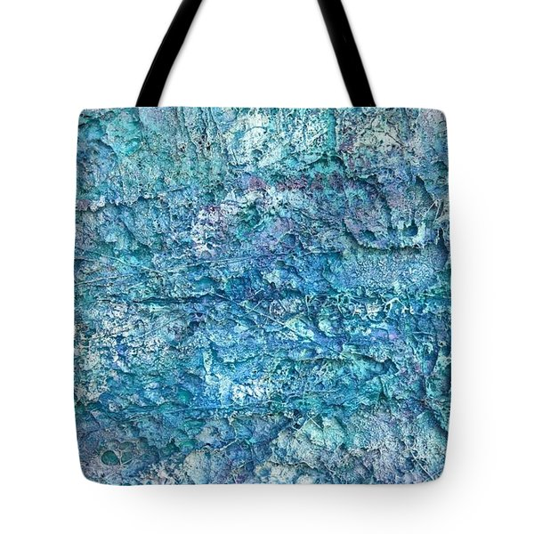 Tote Bag featuring the painting Liquid Abstract #22617 by Robert Anderson