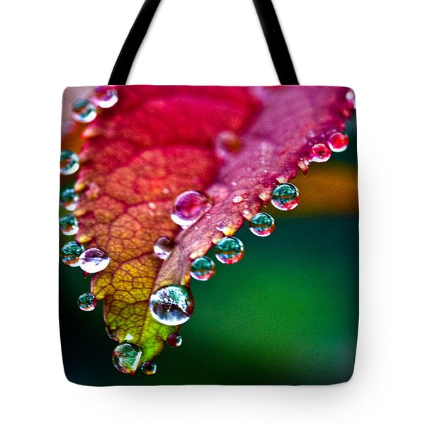 Liquid Beads Tote Bag by Christopher Holmes