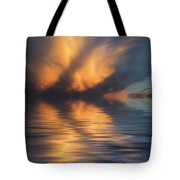 Liquid Cloud Tote Bag by Jerry McElroy