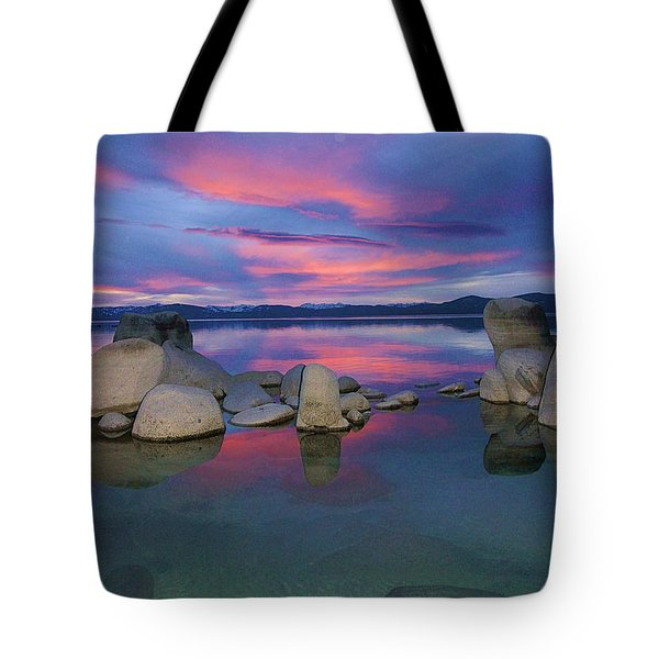Tote Bag featuring the photograph Liquid Dreams Portrait by Sean Sarsfield