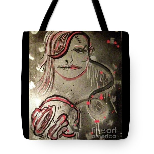 Liquid Ether Spacial Sound Tote Bag by Talisa Hartley