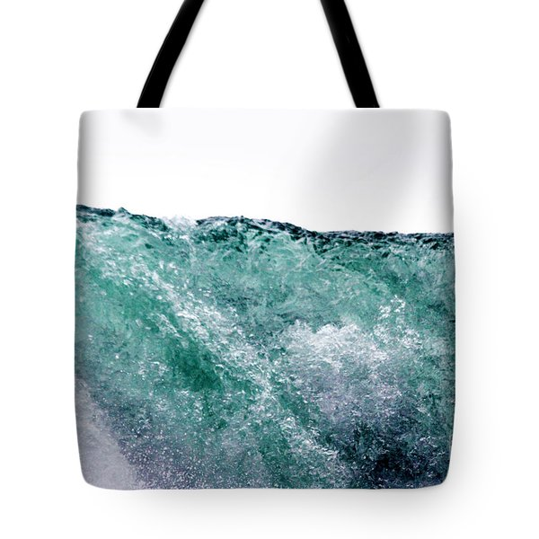 Tote Bag featuring the photograph Liquid Horizon by Dana DiPasquale