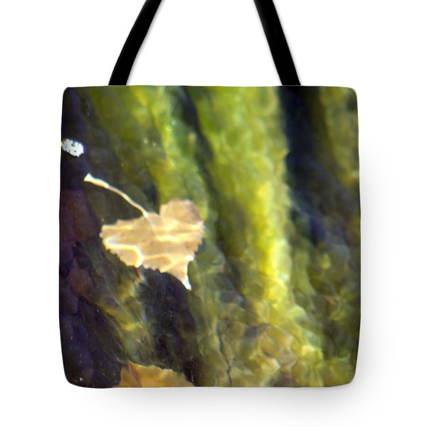 Liquid Leaves 1 Tote Bag
