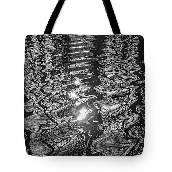Liquid Light Tote Bag