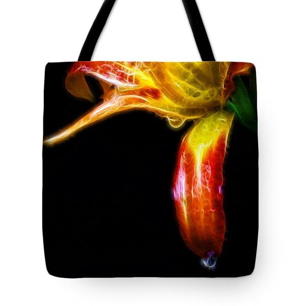 Liquid Lily Tote Bag