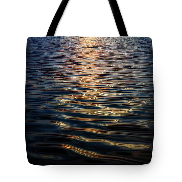 Liquid Reflections Tote Bag