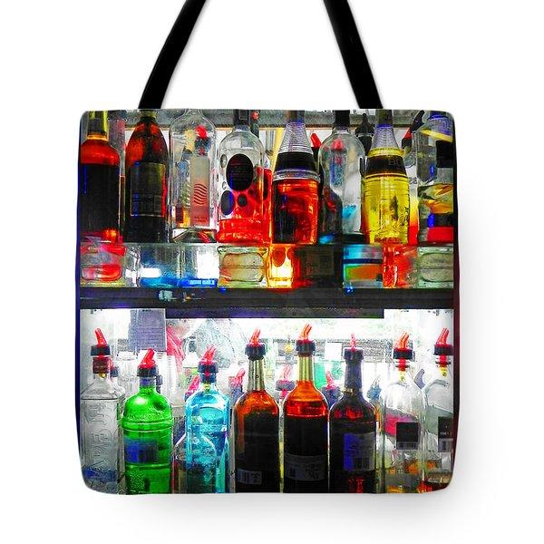 Liquor Cabinet Tote Bag