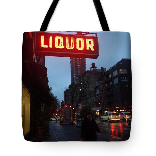 Liquor Tote Bag
