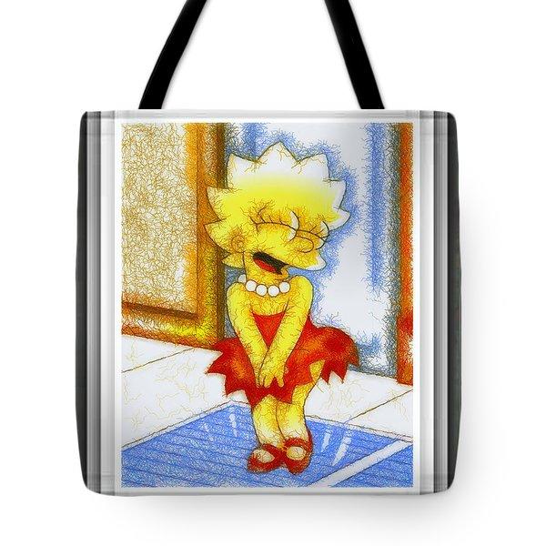 Lisa Does The Monroe Tote Bag