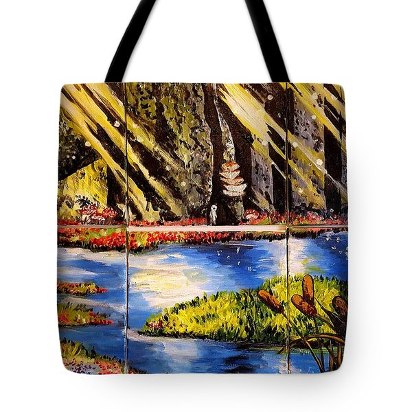 Lisas Neck Of The Woods Tote Bag