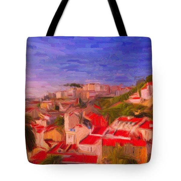 Lisbon 1 Tote Bag