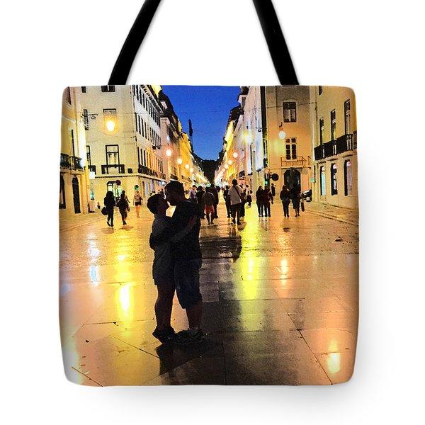 Lisbon Love Tote Bag by Tom Wurl