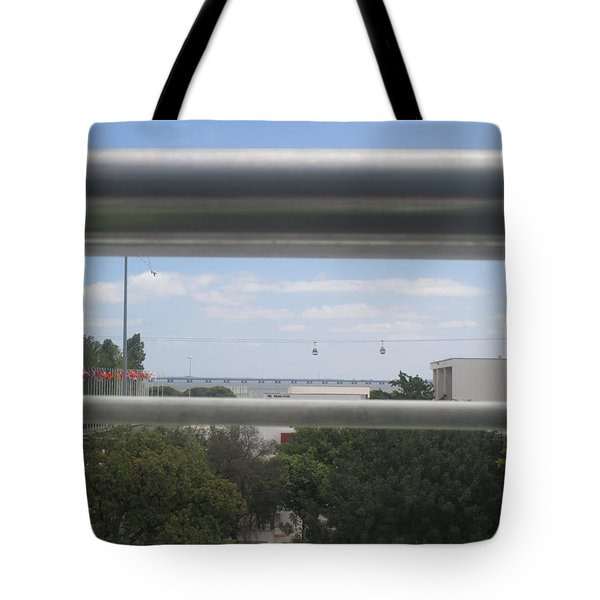 Lisbon Seen From A Terrace Tote Bag