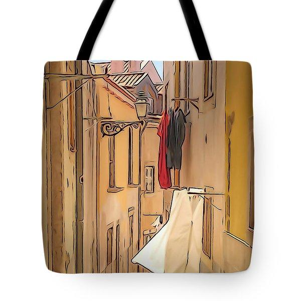 Lisbon Street #2 Tote Bag