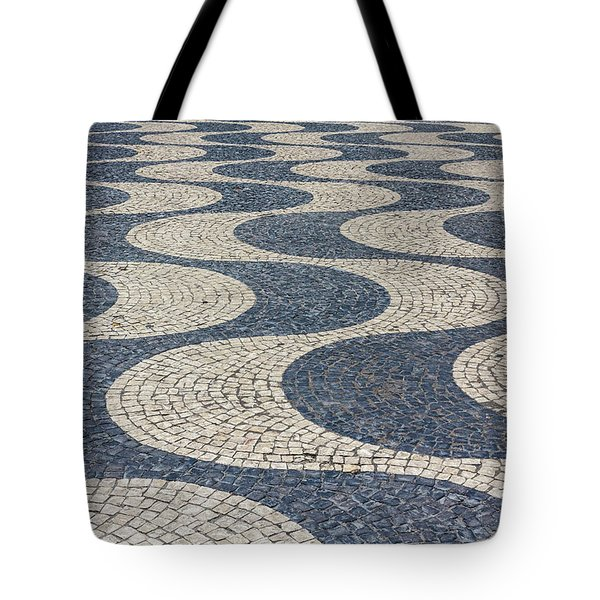 Tote Bag featuring the photograph Lisbon Street by Patricia Schaefer