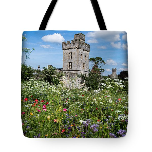 Lismore Castle Gardens Tote Bag by Martina Fagan