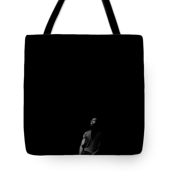 Tote Bag featuring the photograph Listen by Eric Christopher Jackson