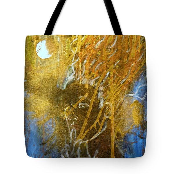Listen To The Moon Tote Bag