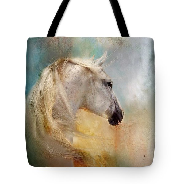 Listen To The Wind- Harley Tote Bag by Dorota Kudyba