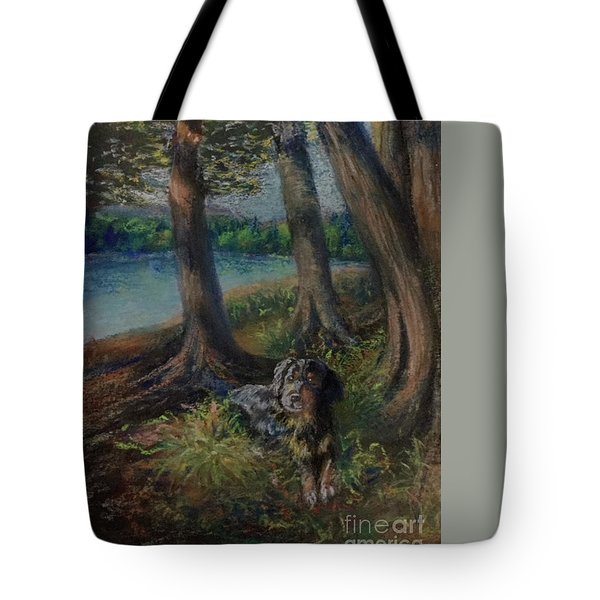Listening To The Tales Of The Trees Tote Bag