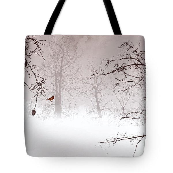 Listening Tote Bag by Trilby Cole