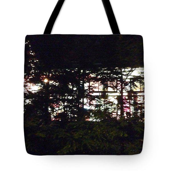 Tote Bag featuring the photograph Lit Like Stained Glass by Felipe Adan Lerma