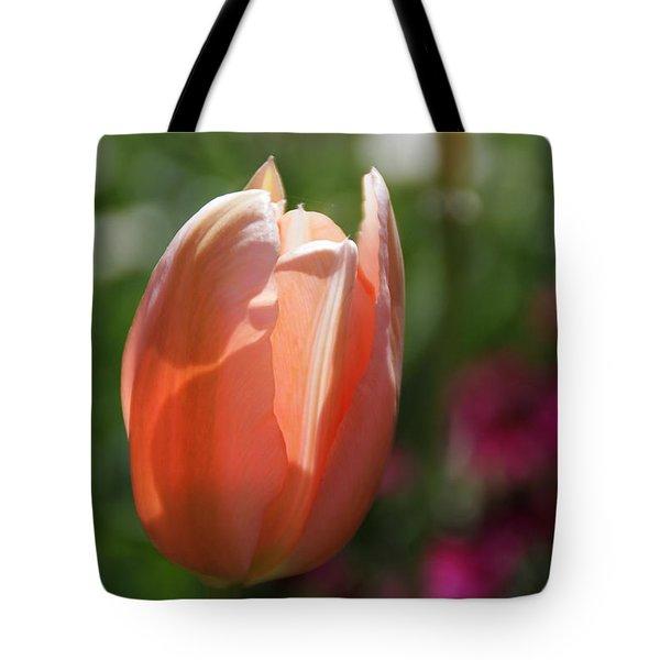 Lit Tulip 01 Tote Bag