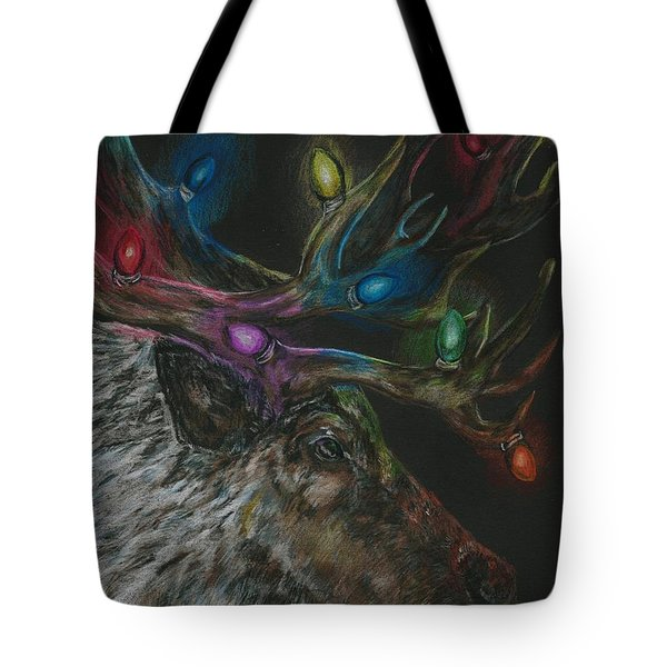 Lit Up Tote Bag by Meagan  Visser