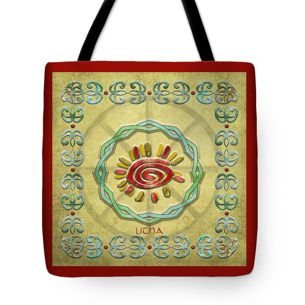 Litha Summer Solstice  Tote Bag by Kandy Hurley