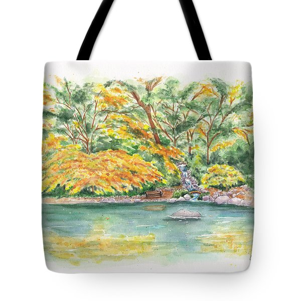 Lithia Park Reflections Tote Bag