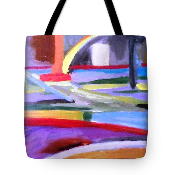 Little Acrylic Tote Bag by Jamie Frier