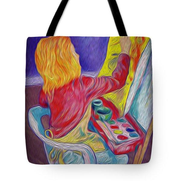 Little Ali Artist Tote Bag