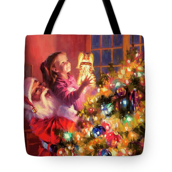Little Angel Bright Tote Bag