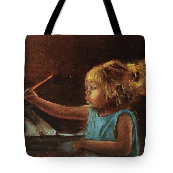 Little Artist Tote Bag