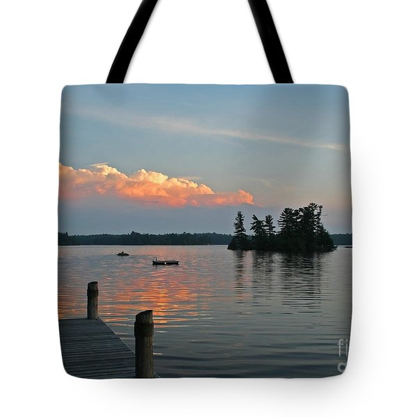 Little Bald Lake Tote Bag